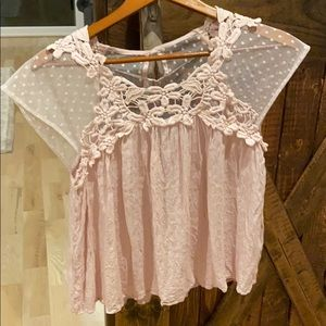 Maurices pink top super cute!